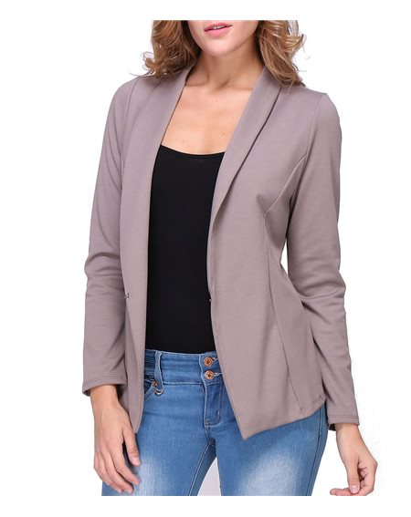 Revdelle - Veste tailleur Made in France manches longues Femme Mael
