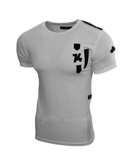 Subliminal Mode - Tee shirt homme col arrondi militaire uni SB15099