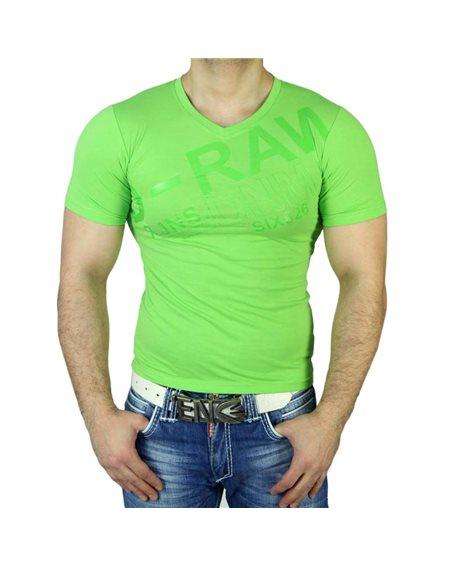 Subliminal Mode - Tee shirt homme col V imprimer SB006